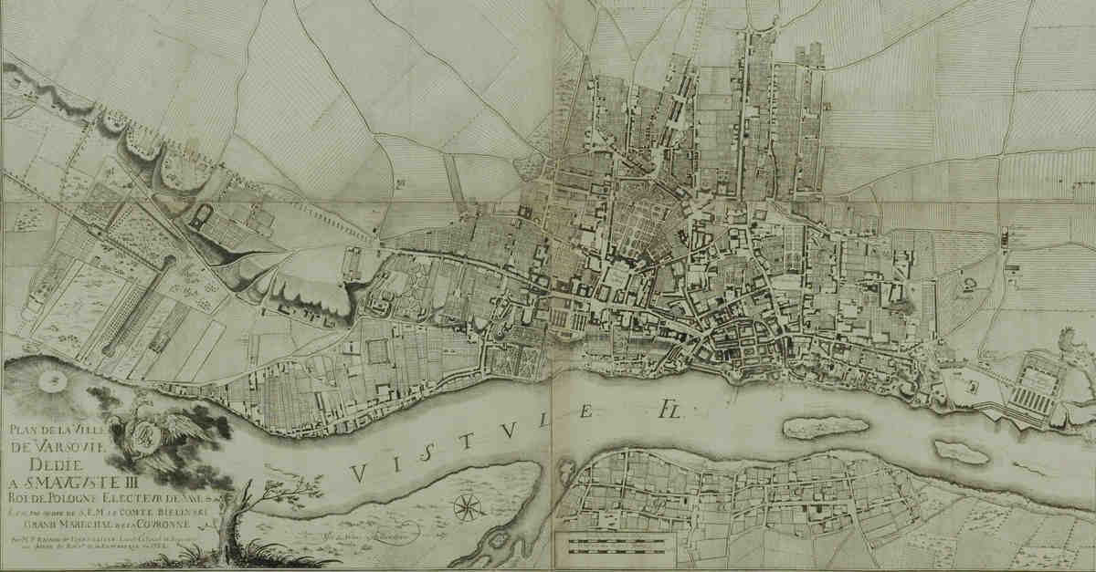 Plan Warszawy 1762, taryffy warszawskie