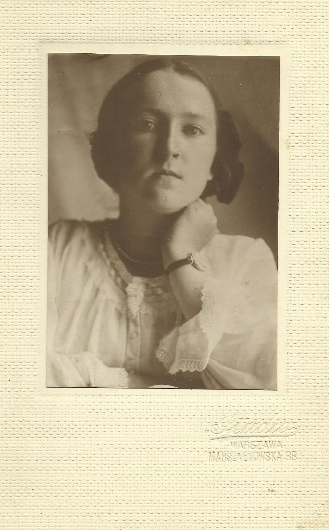 Wanda Polkowska Markowska 1923