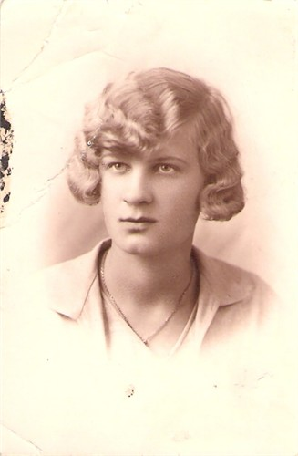 Babcia Wanda Smolińska z domu Zaruska