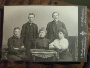 Zdjęcie braci Józefa, Adama, Antoniego Smolińscy
