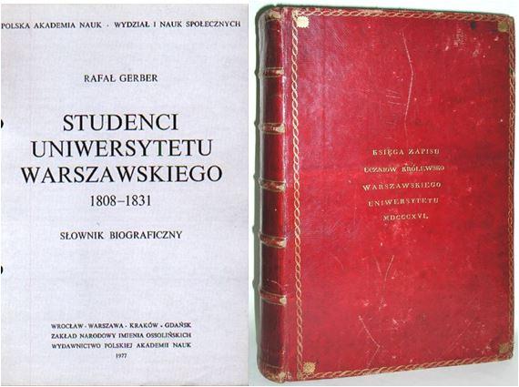 Przodek prawnik uniwersytet warszawski Rafał Gerber Studenci