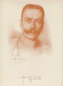 autoportret kapitana (Hauptmann) Oskar Brüch