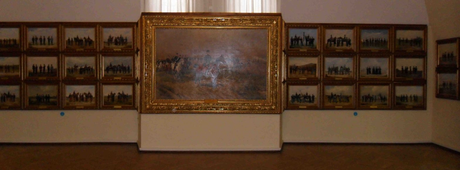 Muzeum Historii Wojska - obrazy Oskara Brücha