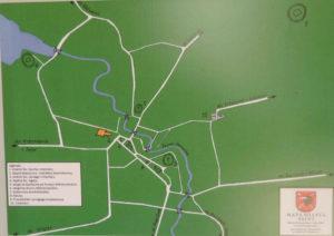 Zdjęcie mapy Miasta Sejny
