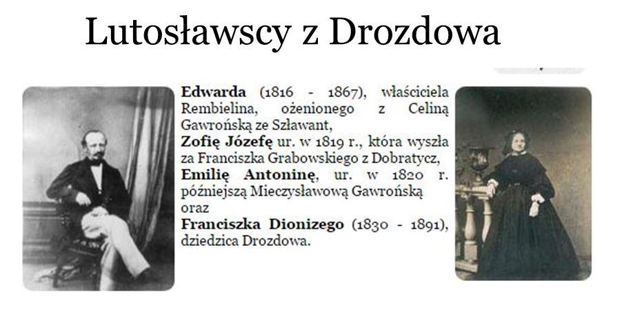 Genealogia piwo Lutosławscy Gawrońscy