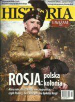 okładka magazynu Rosja Polska kolonia Uważam Rze Historia