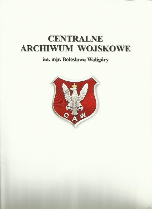 Teczka z logo CAW