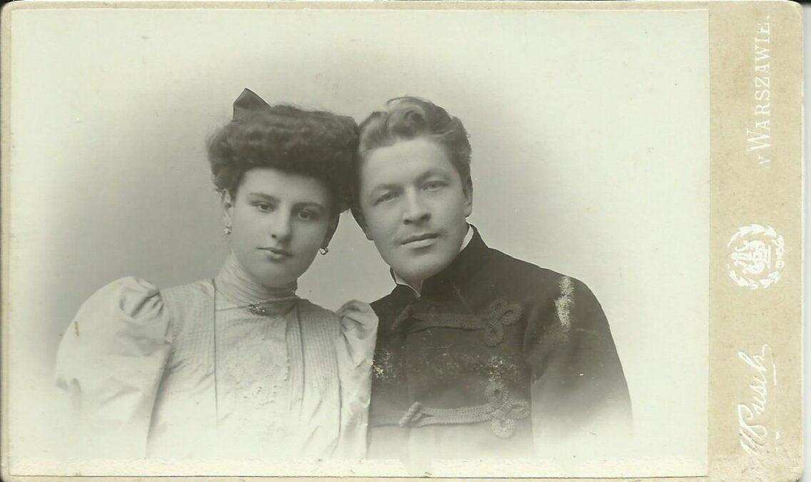 Pradziadkowie Zaruscy prawdopodobnie zdjęcie ślubne