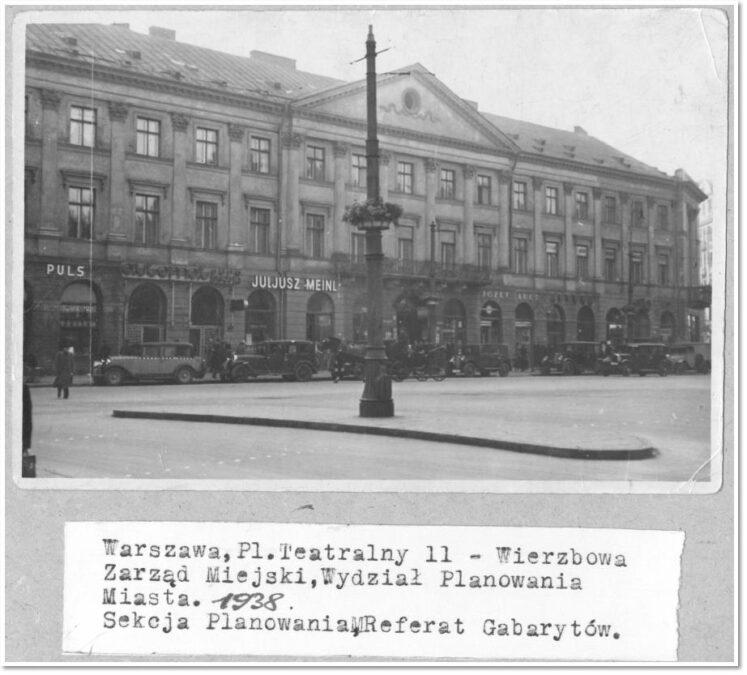 Józef Worowski sklep Dom Peryskusa pl. Teatralny