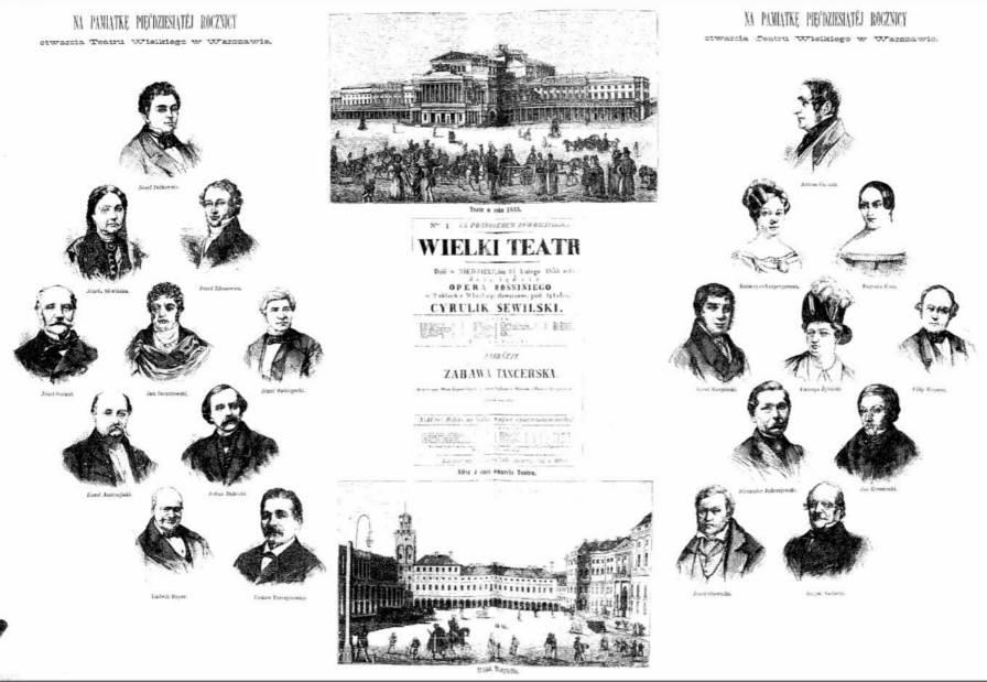 Genealogiczny Prima Aprilis 50 rocznica Teatru Wielkiego