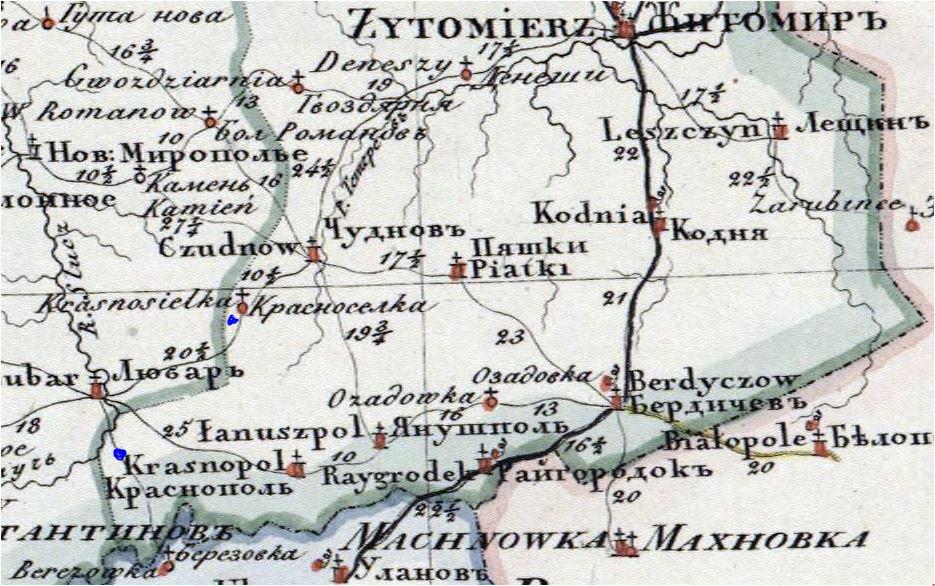 Własność ziemska na Ukrainie Bratałów Mały i Wielki