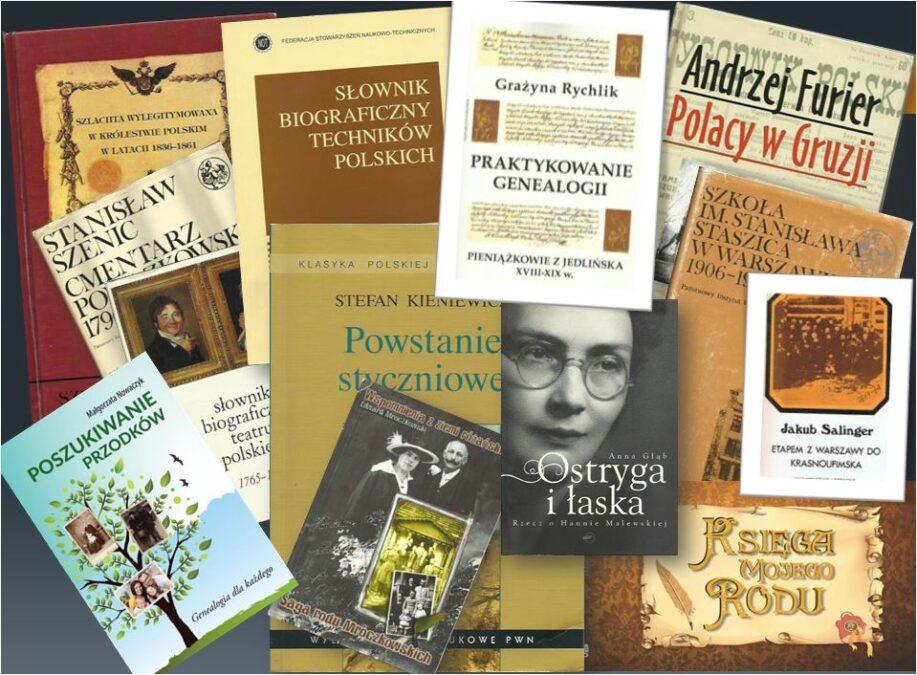 Książki genealogiczne - Kim Oni byli