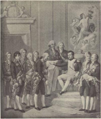 Księstwo Warszawskie - nadanie konstytucji przez Napolena