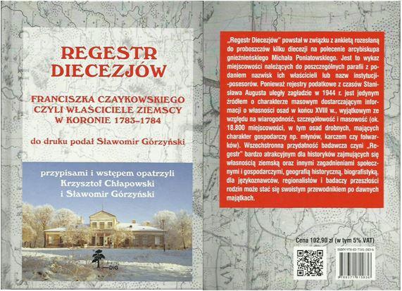 Regestr Diecezjów Franciszka Czaykowskiego