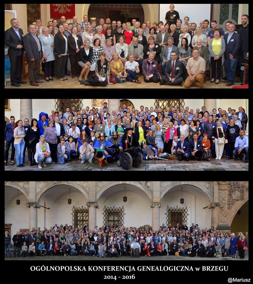 konferencje genealogiczne brzeg 2014-16