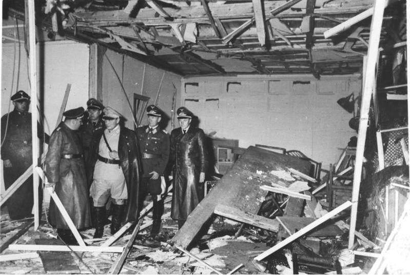 Freytag von Loringhoven Członek rodziny wysadził Adolfa Hitlera