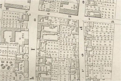 Jak szukać gdzie mieszkali przodkowie w Warszawie - planik