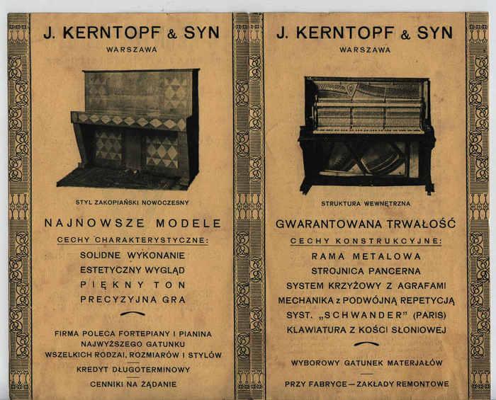 Kerntopf Fabryka fortepianów i pianin