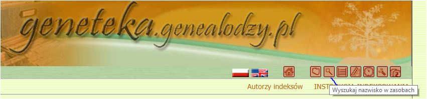 Geneteka dla początkujących genealogów wejście