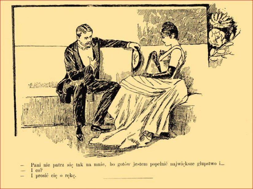 Posag panny młodej na wesoło 1893