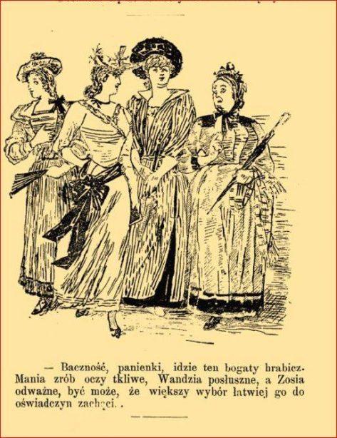 Posag panny młodej na wesoło panny