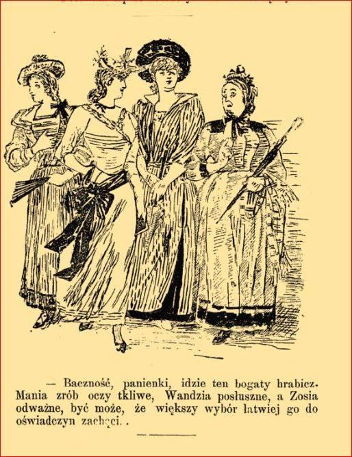 Wyprawa panny młodej na wesoło panny