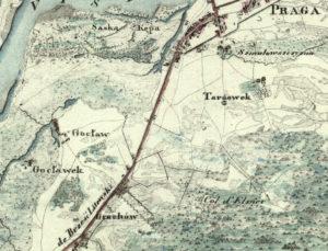 Wzloty i upadki warszawskiej rodziny Arens 1819 Grochów