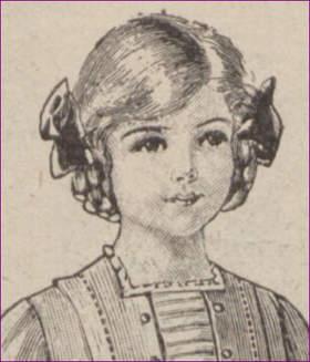 dziewczynka przed I WŚ