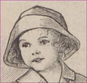 portrety przodków dziewczynka przed I WŚ