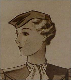 Drzewo genealogiczne portrety przodków kobieta lata 30-te XX wieku