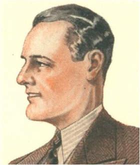 portrety przodków mężczyzna lata 30-te XX wieku