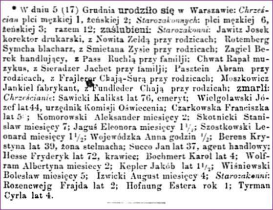 Dziennik Warszawski 290