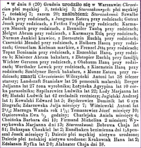 Dziennik Warszawski 292