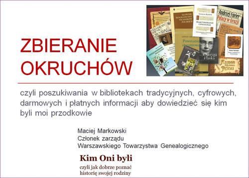 zbieranie okruchów konferencja genealogiczna Brzeg 2018