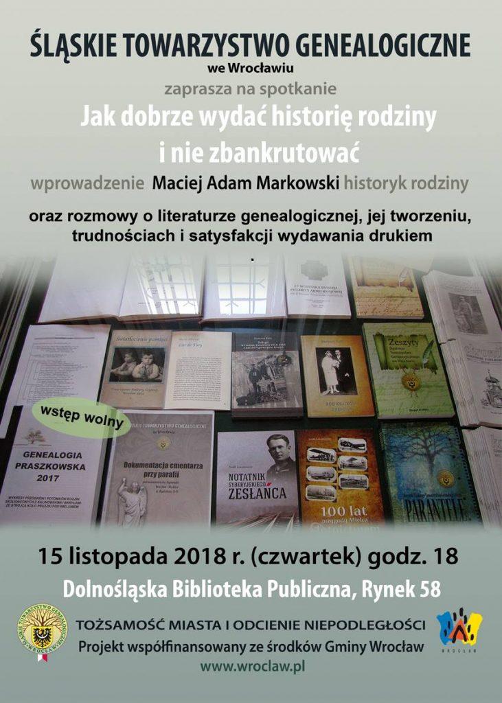 Jak dobrze wydać książke genealogiczną zaproszenie