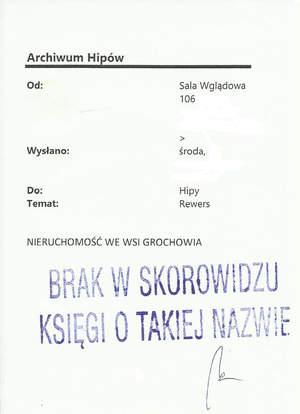 Hipoteka Warszawska w Al. Solidarności odpowiedź