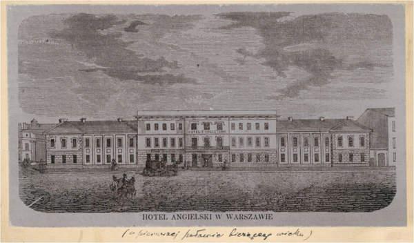 Hotel Angielski w Warszawie