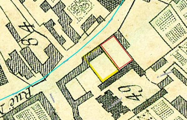 Hotel Niemiecki w Warszawie, ulica Długa 31 1768 rok