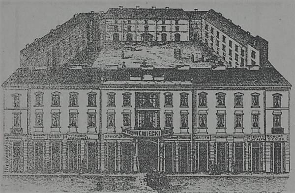 Hotel Niemiecki w Warszawie, ulica Długa 31 1891