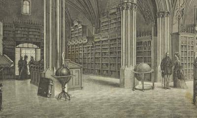 Sala główna Biblioteki Uniwersytetu W Krakowie A Gryglewski