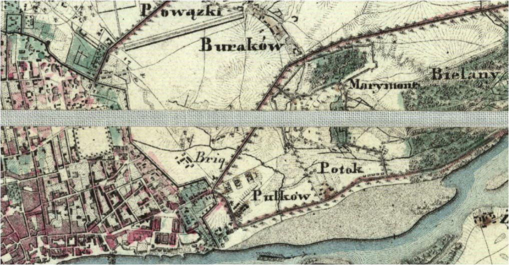 Szmelcarnia łoju we wsi Pólkowie 1829