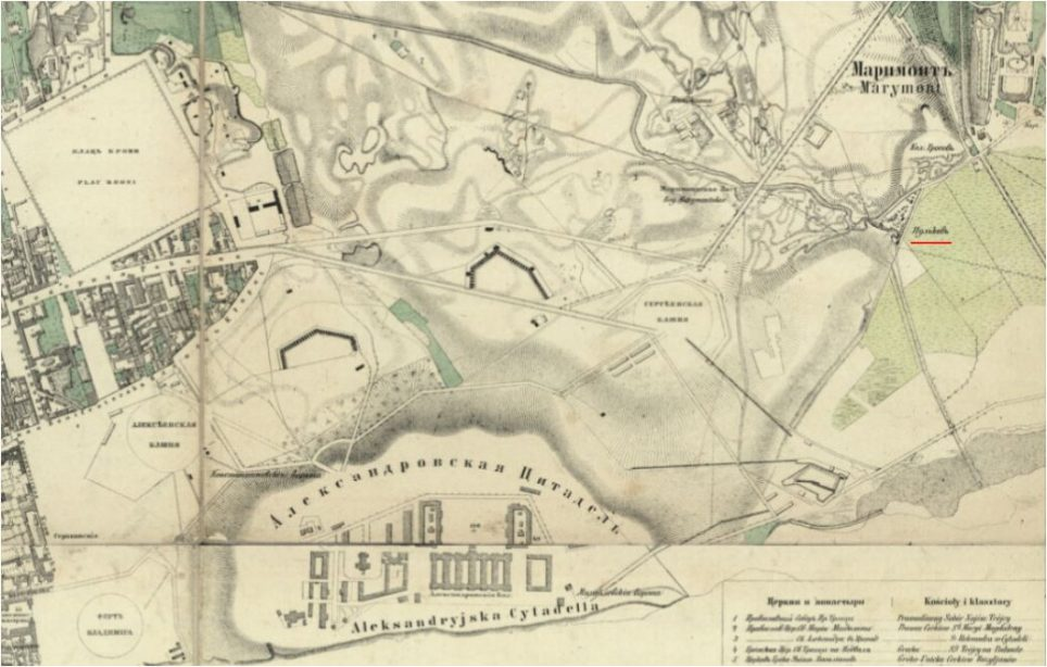 Szmelcarnia łoju we wsi Pólkowie 1867