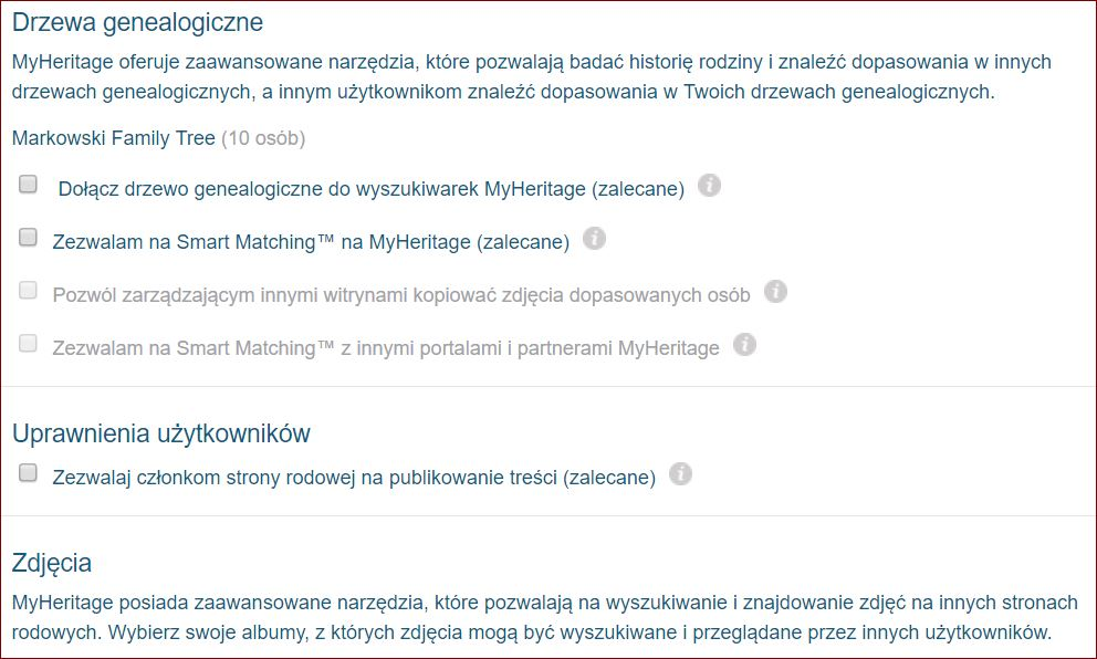 MyHeritage, genialny serwis genealogiczny, diabeł wcielony ograniczenie dostępu