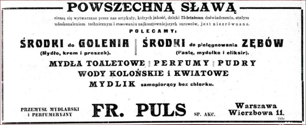 Reklama FR. Puls SP. AKC.