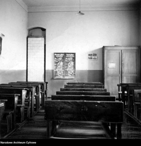 Kurs dla początkujących genealogów - sala szkolna