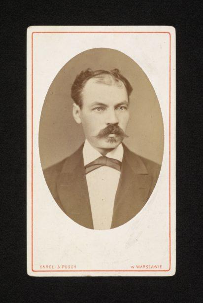 portret Edwarda Kerntopfa w średnim wieku