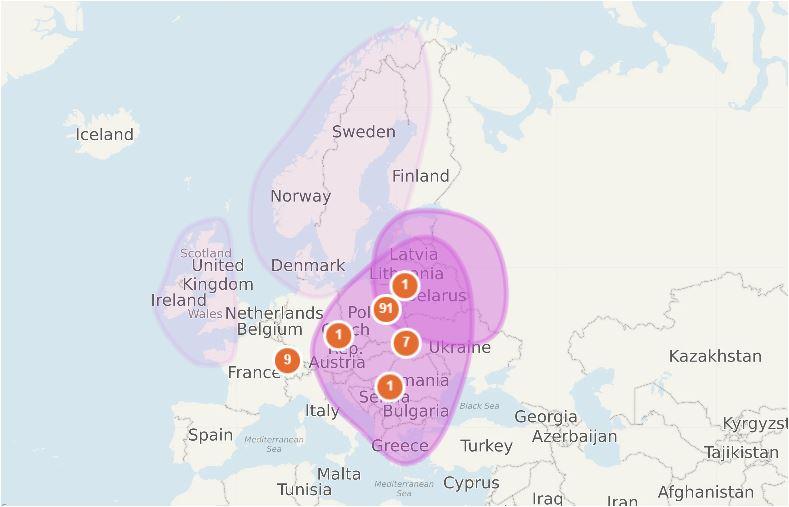 Autosomalne DNA moje pochodzenie etniczne według MyHeritage