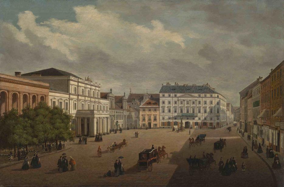 Julian Wyszyński Krakowskie Przedmieście Muzeum Warszawy
