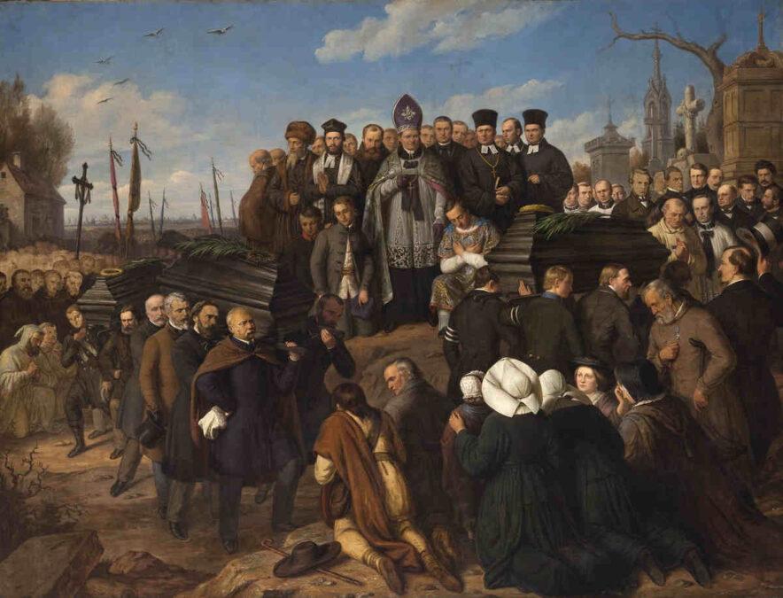 Pięciu poległych i aparat władzy carskiej w 1861 roku