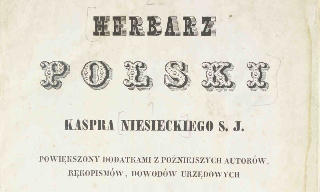Herbarz Polski Kaspra Niesieckiego